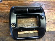 1995-2002 FORD ranger XLT 2WD DASH RADIO TRIM BEZEL dual outlet 96 97 98 99 00