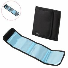 3 Slot Pocket Camera UV CPL ND IR Filter Wallet  Pouch for 58 62 72 28-86 mm NEW