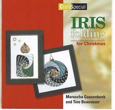 Iris Folding for Christmas, Maruscha Gaasenbeek & Tine Beauveser - Paperback