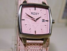 Roxy Rezin 3D Dial Women's Pink Watch Rated 165'. Worn Once. 2 Year Warranty!