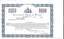 INVESTMENT TRUST OF BOSTON......1964 SHARES OF BENEFICIAL INTEREST CERTIFICATE