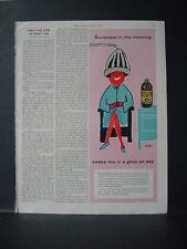 1955 Sunsweet Prune Juice Woman under Hair Dryer Vintage Print Ad 10854
