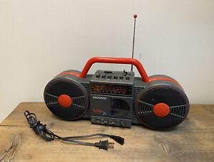 Vintage 80s 90s Magnavox D 8007 BOOMBOX Radio Batteries or Plug In - Speaker
