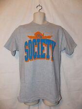 mens fly society shadow logo t-shirt M nwt gray
