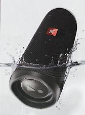 New JBL Flip 5 Portable Waterproof Speaker - Midnight Black