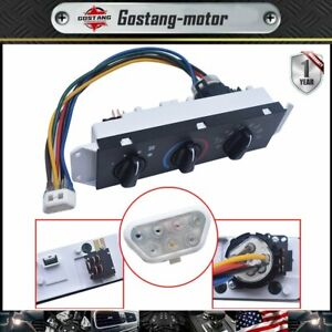 For 99-04 Jeep Wrangler TJ HVAC AC A/C Heater Control with Blower Motor Switch