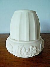 French Vintage/retro White Milk Glass Lamp Shade