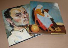 FENYES ADOLF & POR BERTALAN PEINTRE HONGRIE  1980 Hungarian painter
