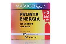 MASSIGEN SPORT PRONTA ENERGIA magnesio e potassio 12 BUSTINE OFFERTA