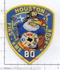 Texas - Houston Station 80 TX Fire Dept Patch - Eagle