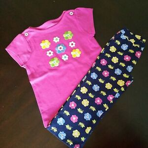 Gymboree Showers Of Flowers Pants And Top Size 2T NWT