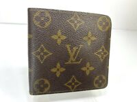 Auth Louis Vuitton Monogram Portofille Marco N61675 Leather Wallet 59615041-3
