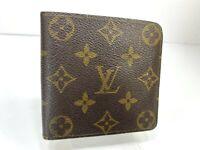 Auth Louis Vuitton Monogram Portofille Marco N61675 Leather Wallet 59615041-3