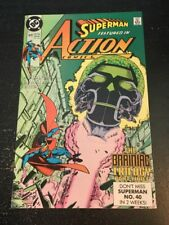 Action Comics#648 Incredible Condition 9.4(1990)Brainiac,Perez, Gammill,Breeding