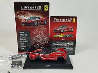 1:64 Kyosho Ferrari Minicar Collection 12 FXX K FXXK 2015-2016 Red #10 NEW