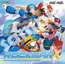 ROCKMAN X ANNIVERSARY COLLECTION SOUND TRACK CD Japan CPCA-10456 4976219093972