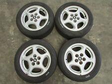 "JDM 90 96 Nissan 300zx Turbo Fairlady Z Z32 OEM Wheels 16x7.5 et45 16"" 5x114.3"