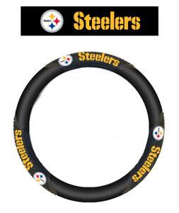 NFL Pittsburgh Steelers Massage Comfortable Grip Steering Wheel Cover
