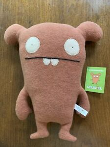 "UGLYDOLL Pretty Ugly 14"" CHUCKANUCKA Plush Stuffed Animal 2004 Tags FULL SIZE"