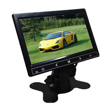 HD 7'' Ultra Thin 800x480 Color TFT LCD Headrest DVD VCR Car Rear View Monitor