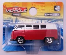 1963 Volkswagen VW T1 BUS - Welly Diecast Replica Pull Back Car 1:64 Scale