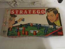 Vintage Stratego War Strategy Board Game by Milton Bradley Original Box + EXTRAS