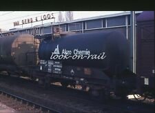N1214 - Dia slide 35mm original Eisenbahn Holland, NS AKZO Kesselwagen, '80s