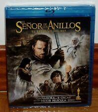 EL SEÑOR DE LOS ANILLOS-EL RETORNO DEL REY-2 DISCOS-BLU-RAY+DVD-NUEVO-PRECINTADO