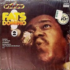 """FATS DOMINO """"attention FATS DOMINO VOLUME 2' GERMAN IMPORT LP"""