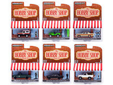 """""""The Hobby Shop"""" 6 Pc Set Series 10 1/64 Diecast Model Cars By Greenlight 97100"""