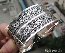 Hot! New Tibetan Tibet silver Totem Bangle Cuff Bracelet 12 style 01#