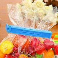 1/5/10x Durable Kitchen Storage Food Snack Sealing Bag Clips Clamp Plastic X5G5