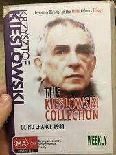 Blind Chance ex-rental region4 DVD (1987 Krzysztof Kieslowski Polish movie) rare