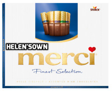 Storck Merci Chocolate Caja 250g Surtido de selección de la leche-vendedor de Reino Unido Calidad Superior