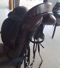 KN Overture Dressage Saddle. Brown 18""
