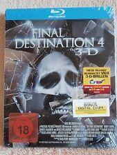 Final Destination 4 SteelBook [Blu-ray: Region Free, 3D/2D] (Special Edition)