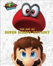 ART OF SUPER MARIO ODYSSEY~Dark Horse Hardcover NEW
