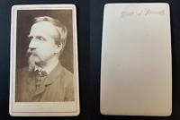 Henri d'Orléans, duc d'Aumale Vintage albumen print CDV. Henri d'Orléans, duc