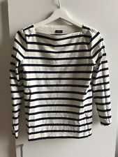 Joseph Striped Jersey Top Size S Excellent Condtion