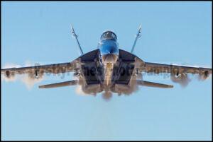 USN Blue Angels F/A18 Super Hornet Sneak Pass Pensacola 2020 8x12 Photos