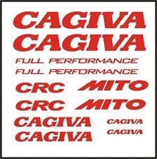 +++ CAGIVA MITO - Aufkleber / Sticker Set 12-teilig +++