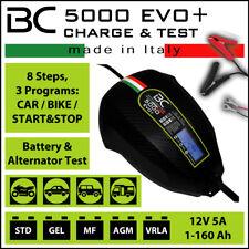 Controlador De Batería BC Evo 5000 + 12 V Cargador Y Probador Reino Unido Stock Y Garantía