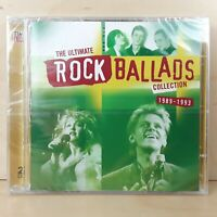 THE ULTIMATE ROCK BALLADS COLLECTION 1989 - 1993 VARIOUS 2 CD DISCS FREE P&P