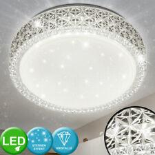 Luxus LED Deckenleuchte Sternenhimmel Kinderzimmerlampe Kristall Effekt rund