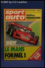 Sport Auto 7/73 Ford Capri RS Yamaha RD 350 + Poster