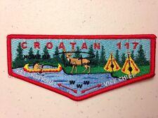 OA (BSA) Croatan #117 Lodge - 2017 Talon Parker National Vice Chief Trader Flap