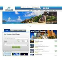 Travel Search Engine  Website- Huge Income 100% Automated ! Free cPanel Hosting