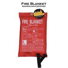 Fire Blanket 1x1Meter Fire Blanket Fiber Glass House Caravan Camper HH0034