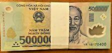Vietnamese 20000000 Dong 20 Million ( 500000 x 40 Pcs ) Vietnamese Currency VND