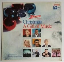Zenith Presents Christmas Gift Of Music  Capitol  SL-6544 Limited Edition LP